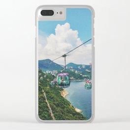Sky Cart Clear iPhone Case