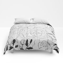 Botanical Romance Comforters