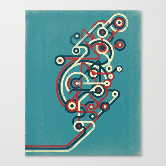 Interconnected Canvas Print