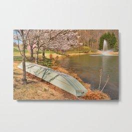 Meadowlark Spring Gardens Metal Print