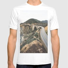 Bixby Bridge MEDIUM Mens Fitted Tee White