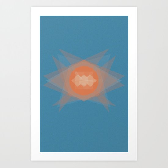 untitled shape 2 Art Print