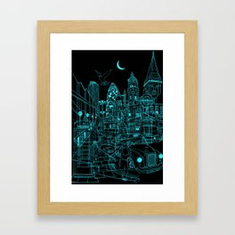 London! Night Framed Art Print