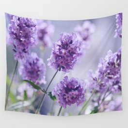 lavender Purple Wall Tapestry