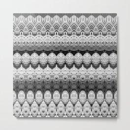 Rattan Metal Print