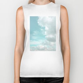 Head in the clouds #buyart #decor #freshair Biker Tank