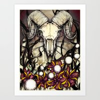Poison and Power Art Print