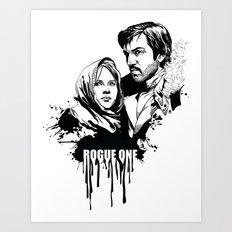 Fandom Inked » Rogue One Art Print