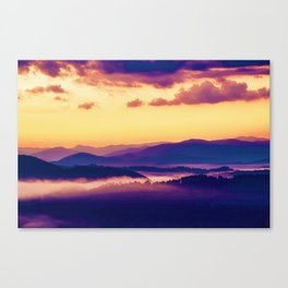 Great Smoky Mountains National Park, United States Canvas Print