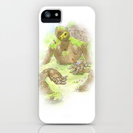 Castle Guardian Robot iPhone Case