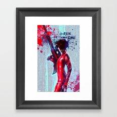 O-Ren Ishii Framed Art Print