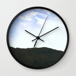 Peruvian Sunburst Wall Clock