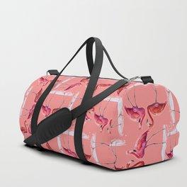 flamingo  pattern Duffle Bag