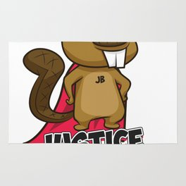 The Office - Justice Beaver - Crime Fighting Beaver Rug