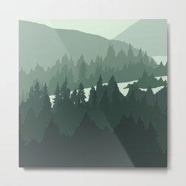 North by Pacific Northwest Metal Print