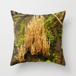 Biodiversidad vegetal Throw Pillow