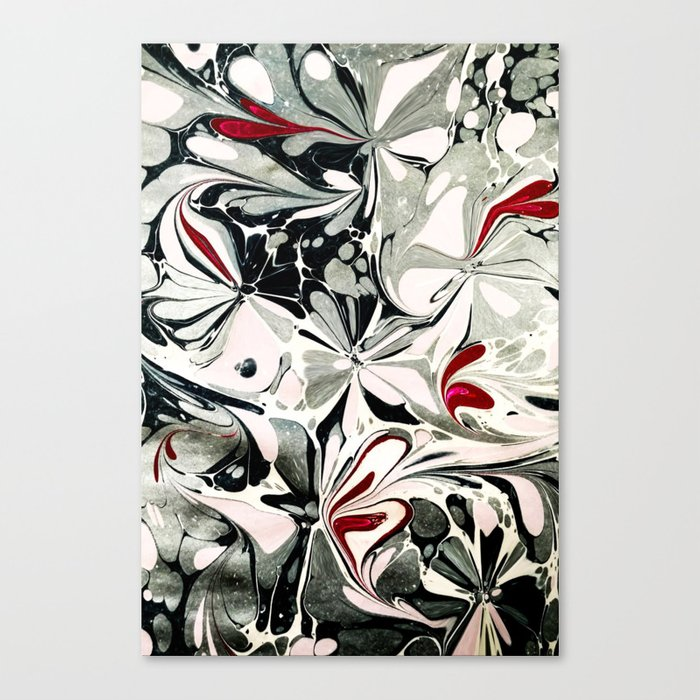 Watercolors Pattern Canvas Print