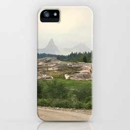Misty Mountains of Wyoming iPhone Case