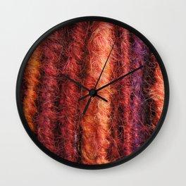 Maple & Rust Wall Clock