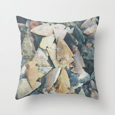 Desert Relics Throw Pillow