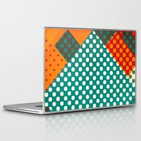 dots Laptop & iPad Skins featuring Dots by SensualPatterns