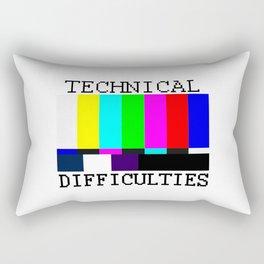 Technical Difficulties Rectangular Pillow