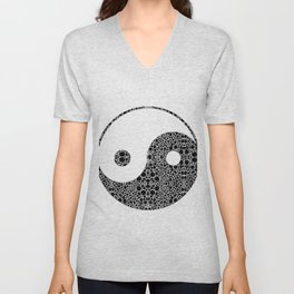 Perfect Balance 1 - Yin and Yang Stone Rock'd Art by Sharon Cummings Unisex V-Neck