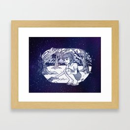 Chipmunk Framed Art Print