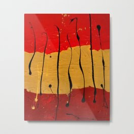Abstract #16 Metal Print