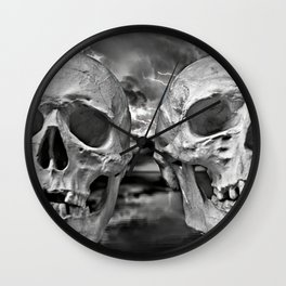 Till Death Do Us Part II Wall Clock