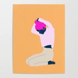 Pink bun Poster