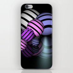 reflections and spheres -4- iPhone & iPod Skin