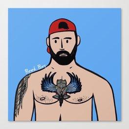 Beard Boy: Jose Santos Canvas Print