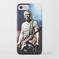 u2 iPhone & iPod Cases featuring U2 / Adam Clayton by JR van Kampen