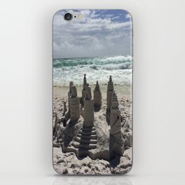 Castles In The Sand iPhone Skin