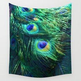 Peacock Feathers #1 #decor #art #society6 Wall Tapestry