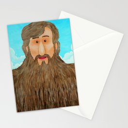 Jim's Amazing Beard Stationery Cards