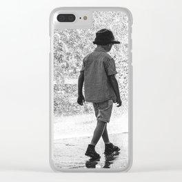 Boy Clear iPhone Case
