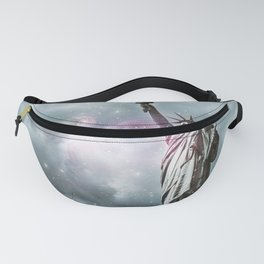 Space Statue of Liberty Fanny Pack