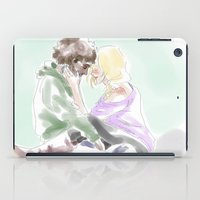 grantaire iPad Cases featuring jehan and grantaire les mis by Pruoviare