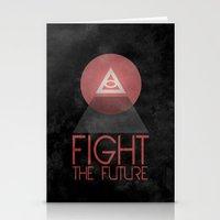 illuminati Stationery Cards featuring Illuminati by Ed Burczyk