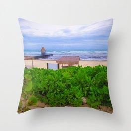 Ocean View - Riviera Maya Throw Pillow