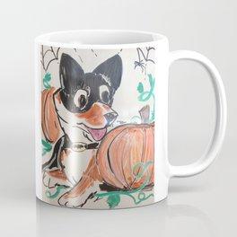 Corgi Halloween Coffee Mug