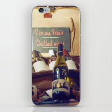 Vin au Frais: Chilled Wine iPhone & iPod Skin