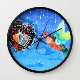 Sacred food Wall Clock