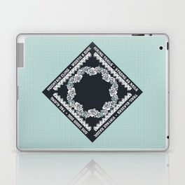 Hiking Trails-Strong as Nails Laptop & iPad Skin