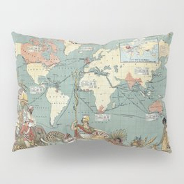 The British Empire 1886 Pillow Sham