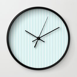 Limpet Shell Stripes Wall Clock