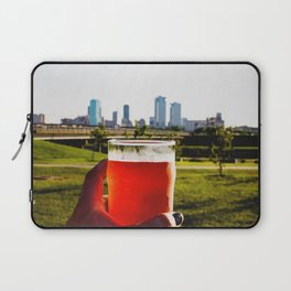 Good Beer In A Good City. Laptop Sleeve