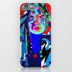 Abstract girl iPhone 6s Slim Case